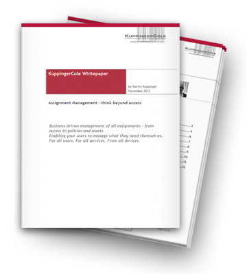 identity management analysts white paper.