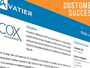 Cox Enterprises Now Does More Complex Tasks at a Lower Cost with Avatier's Password Reset Solution