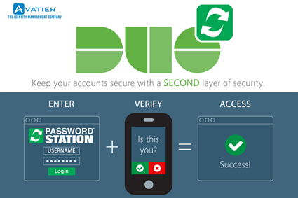 Avatier Password Management Now Works with DUO