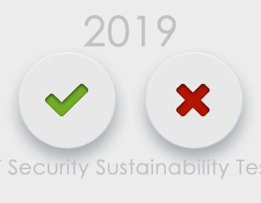 Will You Pass The 2019 IT Security Sustainability Test?