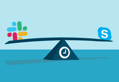 How to Leverage Slack and Skype to Save Time in IT Security